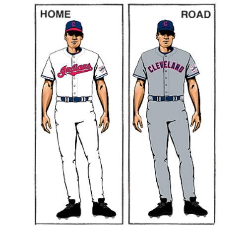 uniforme clevelan indians mlb en español beisbol historia