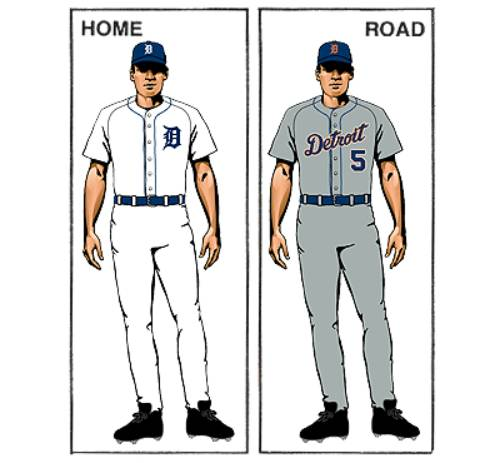 uniforme detroit tigers mlb en español beisbol historia