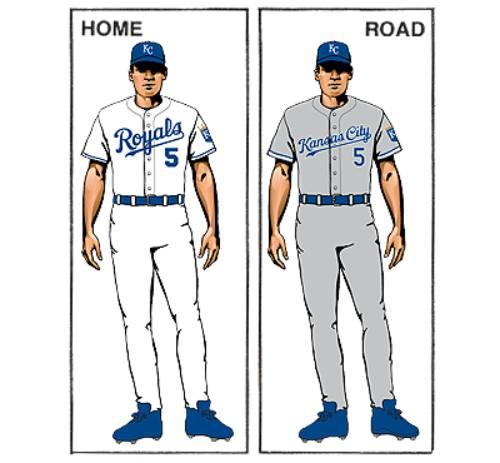 uniforme kansas city royals mlb en español beisbol historia