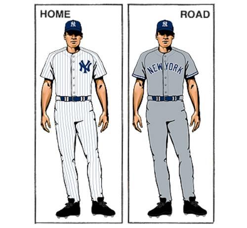 uniforme new york yankees mlb en español beisbol historia