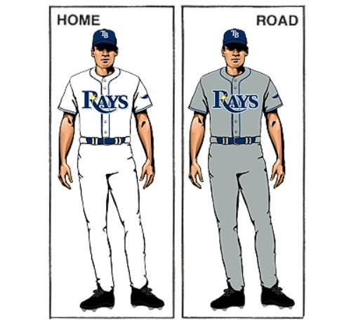 uniforme tampa bay rays mlb en español beisbol historia