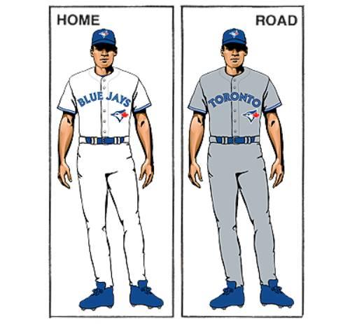 uniforme toronto blue jays mlb en español beisbol historia
