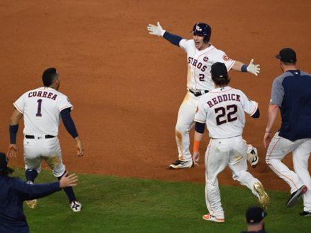 En un juego loco, los Astros quedan a una victoria de coronarse campeones world series los ángeles dodgers Houston astros walk off victoria quinto partido world series 2017 series mundiales 2017