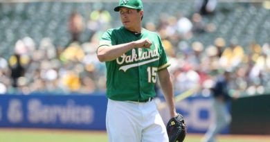 Homer Bailey: ¿una perita en dulce? los athletics athleticos beisbol mlb