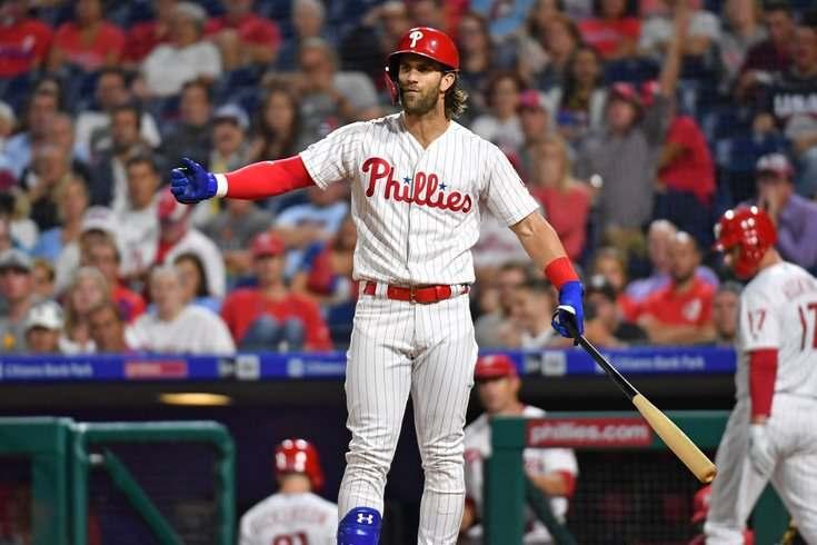 bryce harper philadelphia phillies 2021 mlb en español beisbol