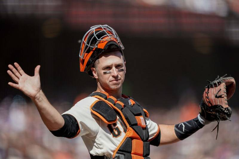 buster posey san francisco giants 2020 beisbol mlb