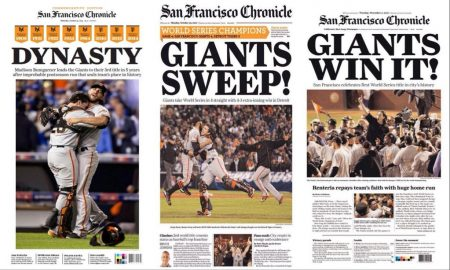 San Francisco giants dinastías mlb