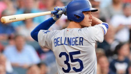 cody bellinger mlb awards 2017 los angeles dodgers