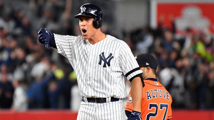 Judge fue clave para el ataque de los Yankees Houston a las Series Mundiales