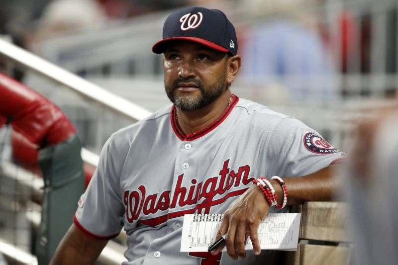 Dave Martinez washington nationals 2020 beisbol mlb