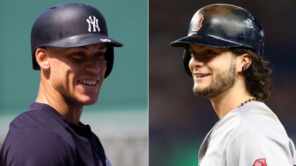 Andrew Benintendi Boston Red Sox de Rookie a Rookie Aaron Judge MLB