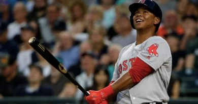 Rafael Devers en la élite beisbol mlb boston red sox