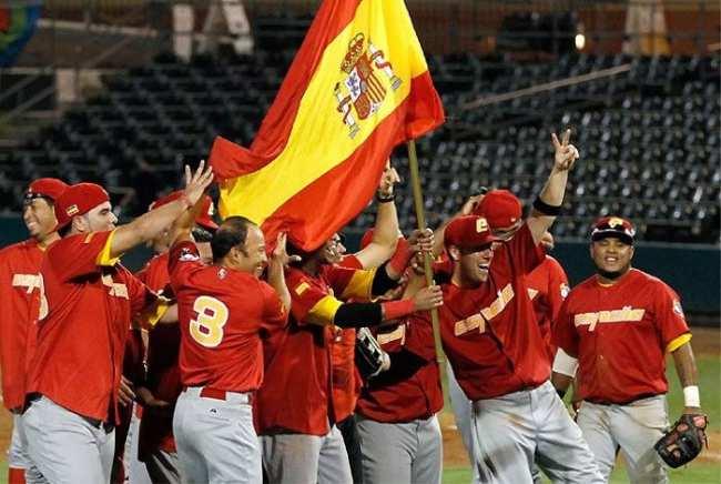 La selección española de béisbol
