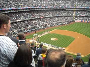 yankee stadium viajar a ver béisbol MLB New York Yankees