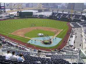 PNC Park viajar a ver béisbol mlb Pittsburgh Pirates