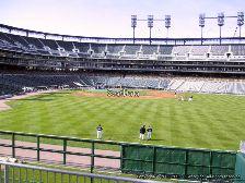 Comerica Park viajar a ver béisbol mlb Detroit Tigers