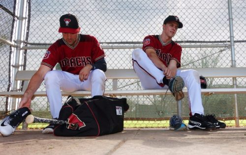 Greinke y Ray ante el partido de wildcard Arizona Diamondbacks