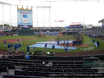 viajar a ver béisbol mlb Kauffman Stadium, Kansas City