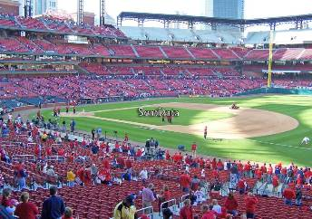 viajar a ver béisbol mlb Busch Stadium, St. Louis