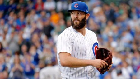 Jake Arrieta chicago cubs 2017