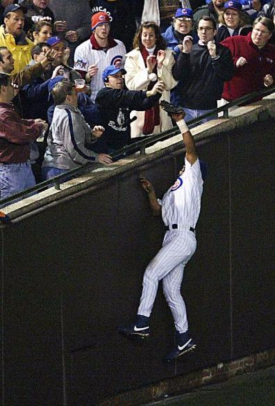 Barman y Alou contra Marlins 2003 Chicago Cubs, 100 años de soledad