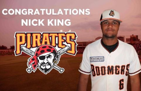 Limpiando las menores de los Pirates nick king Pittsburgh