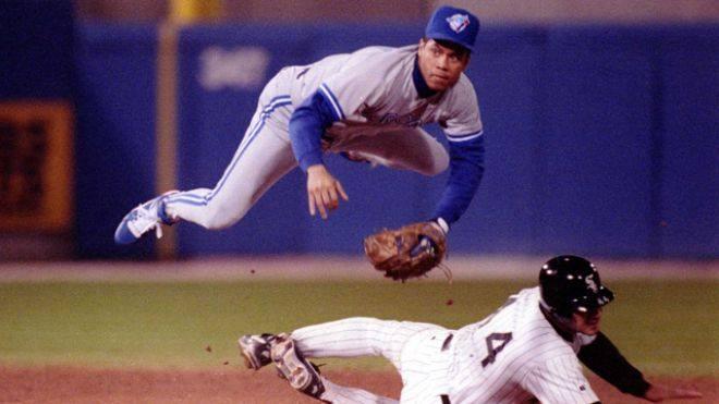 Roberto Alomar en los Blue Jays (MLB) mejores jugadores de la historia del béisbol
