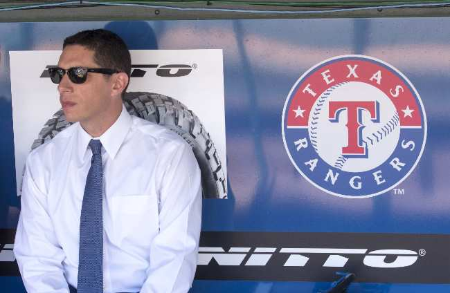 Jon Daniels: Texas Rangers general manager mlb