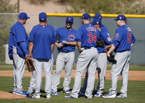 rotacion de los chicago cubs el quinto hombre pitchers