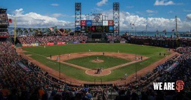 AT&T Park estadio de los SF Giants San francisco giants 2018