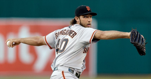 Otro año más, la estrella de la rotación de los SF Giants san francisco giants 2018 Pronósticos Periodo de Traspasos de Julio 2019 NL Central madison bumgarner