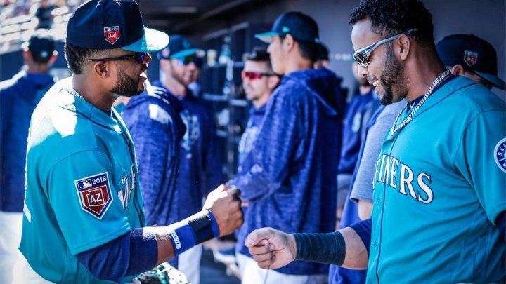 Robinson Cano y Nelson Cruz, los grandes nombres del equipo. (MLB.com) seattle mariners 2018