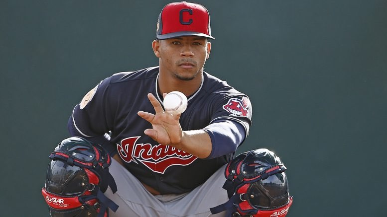 prospectos mlb 2018 Francisco Mejía, catcher de los Indians. (https://diariodigital.com.do)