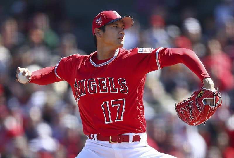 Shohei Ohtani (Fansided.com) los ángeles angels 2018 mlb