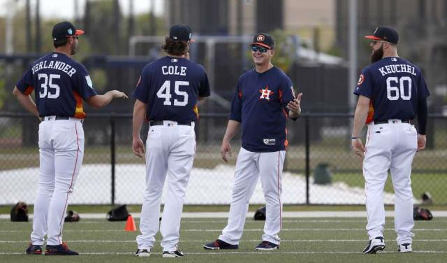 houston astros manager equipo mlb