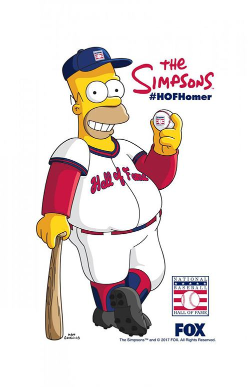 homer simpson hall of famer los simpsons