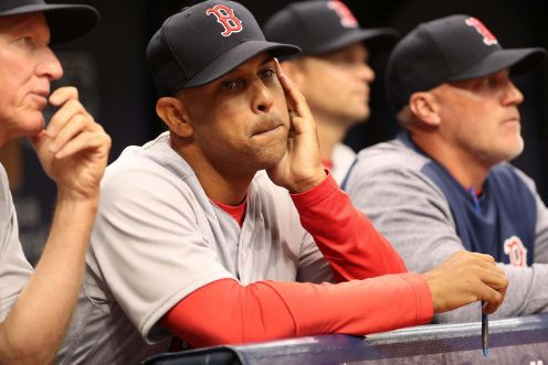 """Alex Cora Las """"dos"""" rotaciones de los Red Sox."""