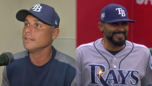 """Los Rays """"redefinen"""" la figura del abridor. Kevin Cash y Sergio Romo"""