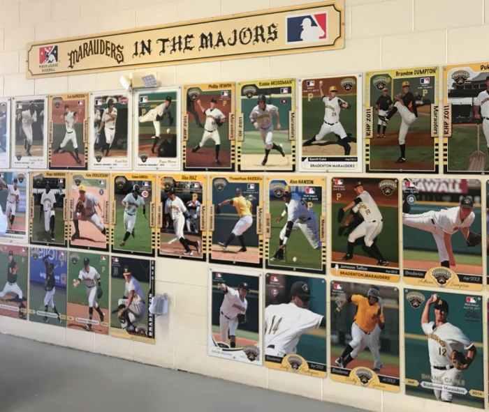 Jugadores de los Bradenton Marauders que alcanzaron las Mayores (Fuente: Elaboración propia) Mi experiencia en Florida (Parte 1): Spring Training de los Pittsburgh Pirates