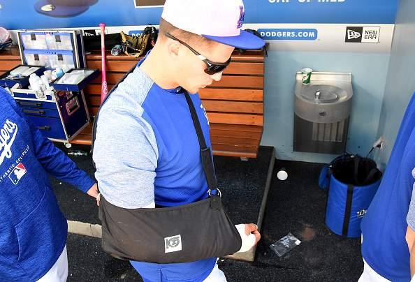 Corey Seager dijo adiós a la temporada tras tener que someterse a una cirugía Tommy John (Foto: Getty)