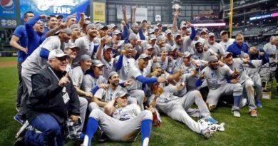 Los Dodgers a cuatro partidos de la gloria red sox postemporada 2018 mlb