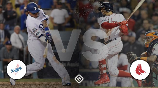 Series Mundiales 2018, para Red Sox o Dodgers World Series 2018