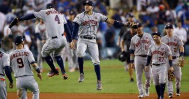 agencia libre houston astros los astros igualan las series mundiales 2019 ante los nationals beisbol mlb