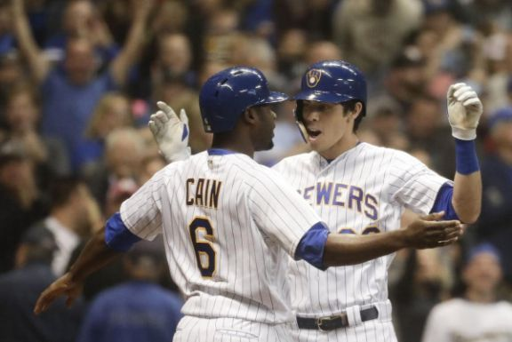 Yelich y Cain Milwaukee Brewers 2018 mlb resumen de la temporada