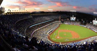 Dodger Stadium Los Angeles dodgers resumen 2018 mlb béisbol baseball park factor mlb peso de los estadios en las estadísticas de los jugadores equipos