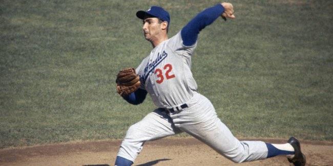 No. 46: Sandy Koufax. Mejores Jugadores de la Historia del Béisbol