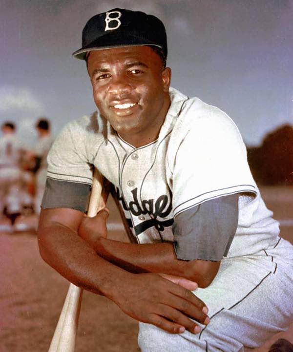 Jackie Robinson mejores jugadores de la historia del béisbol los dodgers mlb