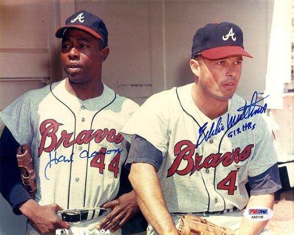 No 38. Eddie Mathews. Mejores Jugadores de la Historia del Béisbol hank aaron