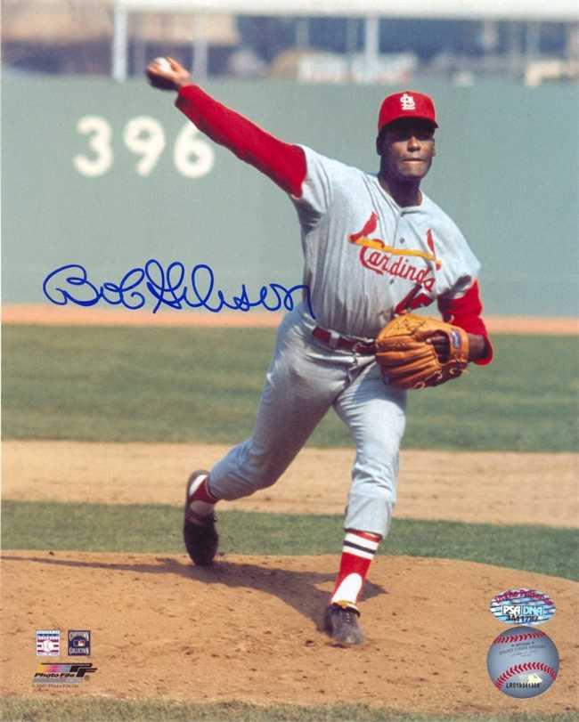 No 39: Bob Gibson. Mejores Jugadores de la Historia del Béisbol saint louis cardinals