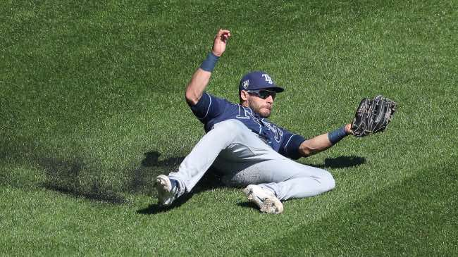Tampa Bay Rays. Resumen temporada 2018 mlb beisbol Kevin Kiermaier (Rays)